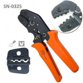 Клещи для обжима неизолированных наконечников SN-0325 0,5-2,5 мм2