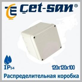 Распределительная коробка 120x120x100 Get-san IP54 6 шт