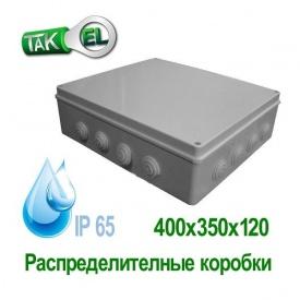 Распределительная коробка 400x350x120 Такел IP65