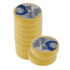 Изоляционная лента ТАКЕЛ 0,13х19 мм 30 м желтый
