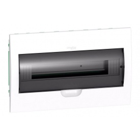 Щит распределительный встраиваемый Schneider Electric Easy9 на 18 модулей IP40 белый двери прозрачные