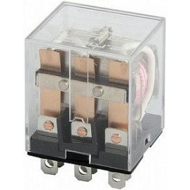 Реле промежуточное 10A LY3N-S 3 группы переключающих контактов 220В АС