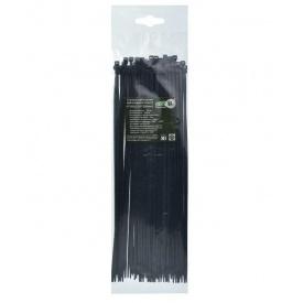 Стяжка кабельная 3,6х300 мм ТАКЕЛ черный