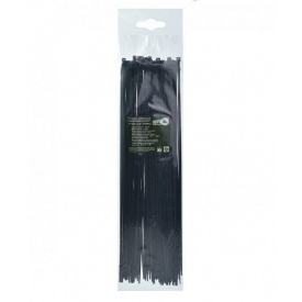 Стяжка кабельная 3,6х370 мм ТАКЕЛ черный