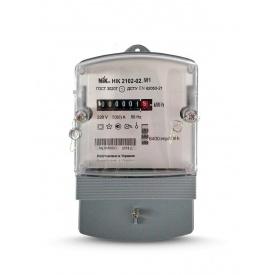Счетчик электроэнергии Ник 2102-02 М1 однофазный однотарифний 5-60 А 220В
