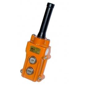 Пульт керування 2-кнопковий СОВ-61 IP54 гумовий ввід кабелю