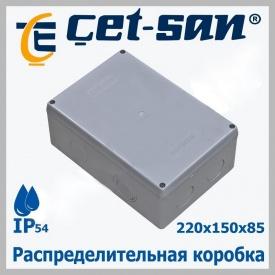 Розподільна коробка 220х150Х85 Get-san IP54 4 шт