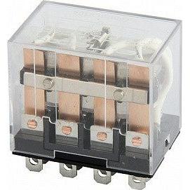 Реле промежуточное 10A LY4N-S 4 группы переключающих контактов 220В АС