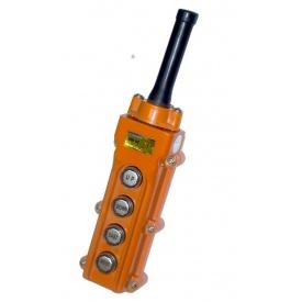 Пульт управління 4-кнопковий СОВ-62 IP54 гумовий ввід кабелю