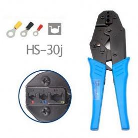 Клещи для обжима изолированных наконечников HS-30J 0,5-6 мм2