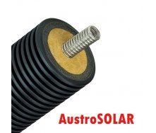 Одинарная изолированная гофрированная труба Austrosolar MCS 40 мм наружный диаметр 145 мм