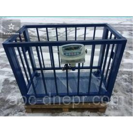 Ваги для тварин 300 кг 750х1250 мм