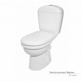 Унитаз-компакт Керамин Верона с жестким сиденьем