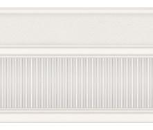Бордюр широкий InterCerama Arte 17,5х23 см білий (БШ 132 061)