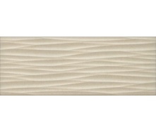 Плитка для стін InterCerama Luna 23х60 см бежева світла рельєф (2360 175 021/Р)