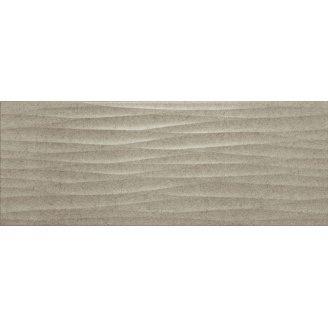 Плитка для стін InterCerama Luna 23х60 см бежева темна рельєф (2360 175 022/Р)