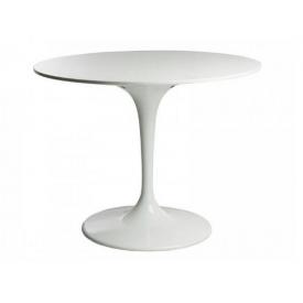 Круглый стол SDM Тюльпан 80 см белый