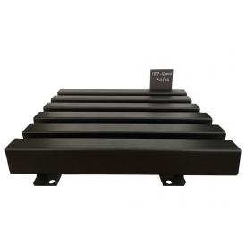 Кубообразный алюминиевый потолок Бард, чёрный RAL 9005
