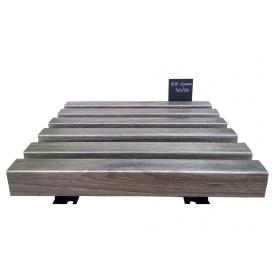 Кубообразный алюмінієвий стеля Бард сріблястий дуб (0614)