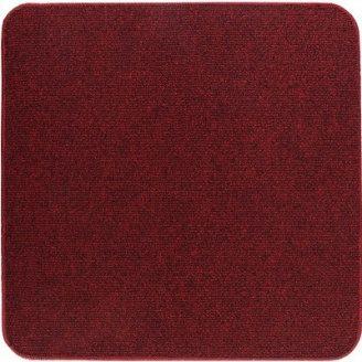Термоковрик электрический Теплик 50х50 двухсторонний красный