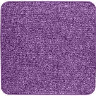 Термоковрик электрический Теплик 50х50 двухсторонний фиолетовый