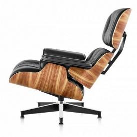 Кресло Eames Lounge Chair с отоманкой