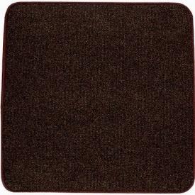 Термоковрик электрический Теплик 50х50 двухсторонний темно-коричневый