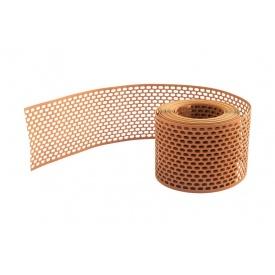 Вентиляционная лента карнизного свеса полипропилен 80 мм