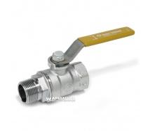 Кран кульовий для газу Giacomini R254L в-н Ду 20