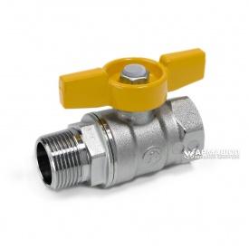 Кран шаровый для газа Giacomini R254D в-н Ду 20