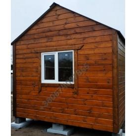 Дачный деревяный домик 6x3