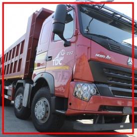 Вантажоперевезення сипучих матеріалів рамним самоскидом 30 т