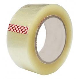 Клейкая лента упаковочная 40 мкм 48мм 100м