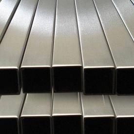 Труба нержавеющая профильная 10х10х1,2 мм AISI 201 мат/полир