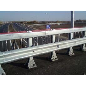 Мостовое ограждение односторонее 11МО-2