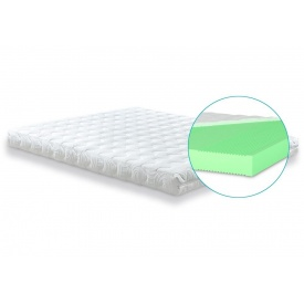 Двусторонний матрас Matroluxe Shine Mint 70х190 см беспружинный