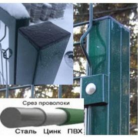 Столб заборный с ПВХ покрытием 2500 мм