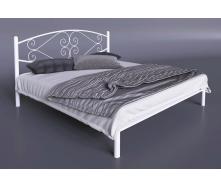 Двуспальная кровать Тенеро Камелия 1400х2000 мм белая