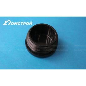 Заглушка черная круглая внутренняя 38 мм