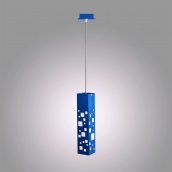 Стельовий світильник Led line designe Tower синій (BH-370)