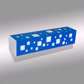 Настенный светильник Led line designe Tower синий (BW-370)