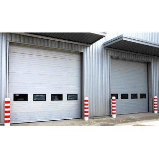 Промышленные секционные ворота серии ProTrend Alutech 3000х3000