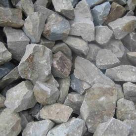 Камень бутовый гранитный серый 1800 г/м3