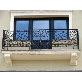 Кований балкон Код: Ж-0103