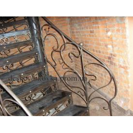 Ковані сходи по індівідуальнім розмірам