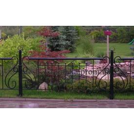 Кований парканчік для газону Код: К-0101