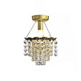 Накладной хрустальный светильник 50229/1 GBK