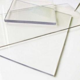 Лист прозорого монолітного полікарбонату POLICAM 2 мм
