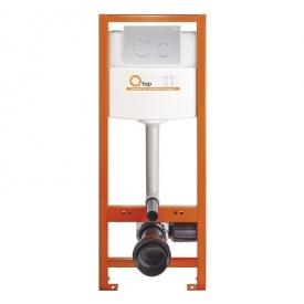 Инсталяция Q-tap Nest M425-M11SAT с панелью смыва Satin