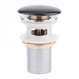 Донный клапан Q-tap F009-1 BLA Pop-up с переливом